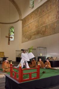 「多賀・光の多面体」~古代と現代を結ぶオペラティックナイト @ 東北歴史博物館 水上野外能舞台